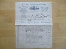 (166) Frankreich, alte Rechnung COUSANCE 1920 - Ferrier