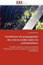 Conditions de propagation des micro-ondes dans les précipitations: Variabilité s