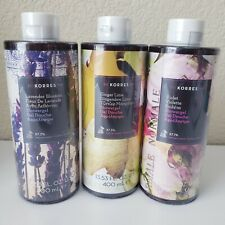 KORRES luxury Shower Body Gel Wash 13.53 fl oz (Various Scents & Sizes)