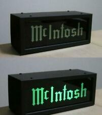 Mcintosh Illumination glass green & gold ornament Steel baked paint acrylic