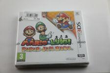 Jeu MARIO & LUIGI PAPER JAM BROS. pour Nintendo 3DS Version française Neuf New !