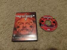Unforgiven 2001 wwf Us Release wrestling dvd wwe
