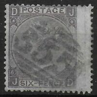 SG104  6d.Lilac(With Hyphen) Pl.6.  FU with Henley-on-Thames Duplex.  Ref:03133