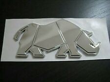 NEW Genuine Suzuki RHINO BADGE Chrome Swift Jimny GV Vitara SJ Samurai EMBLEM