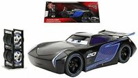CARS 3 - JACKSON STORM with TIRE RACK - Jada Toys Disney Pixar 1/24