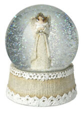 Beauiful Christmas Angel Snow Globe By Heaven Sends