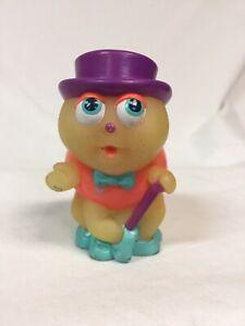VTG RARE 80's Glo Friends Glow Worm Bug Finger Puppet Hasbro