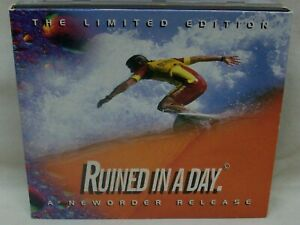 "Like NEW 1993 New Order ""Ruined In A Day"" 2-CD Single Set Double Digipak"