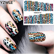 Nail Art Sticker Water Decals Transfer Stickers Leopard Print (DY8113)