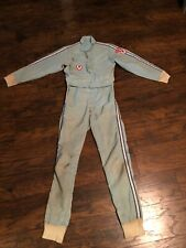 😎 Simpson Firestone Racing Fire Suit Medium Nostalgia Vintage Man Cave