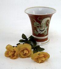 Porzellan Schaubach Kunst MING Vase Drache Prunk - VASE Nr. 34  Handarbeit