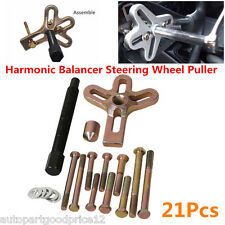 Carbon Steel Harmonic Balancer Gear Pulley Steering Wheel Crank Shaft Puller Kit