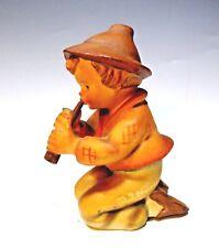 Vintage Hummel Figurine 214 H 'Little Tooter' (Nativity Set) W. Goebel W.Germany