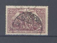 Dt. Reich Mi.Nr. 115d, 2,50 Mark Freimarke 1920 gestempelt geprüft Infla (34730)