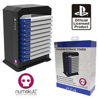 Official PlayStation PS4 Premium Games Case Tower (PS4 /PS3 /Xbox One /XBox 360)