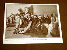 Spedizione Italia Tripolitania Libia 1911 Monache Bengasi Pisa riparano bandiera