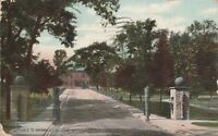 (R)  Watervliet, NY - Entrance and Approach to Watervliet Arsenal - Grounds