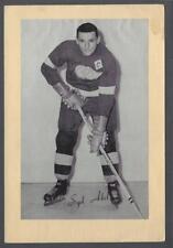 1944-63 Beehive Group II Detroit Red Wings Hockey Photos #149 Sid Abel