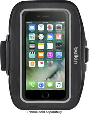 Belkin Sport-Fit Plus Armband for Apple iPhone 7/8 - Black - Workout Armband