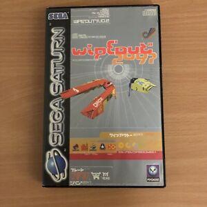 WipEout 2097 Sega SATURN PAL complet CIB