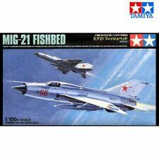 Tamiya 61602 MiG-21 Fishbed 1/100 scale plastic model kit