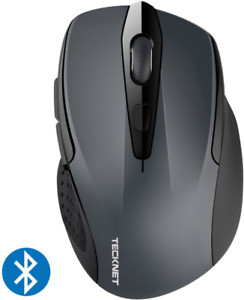 TeckNet 2600DPI Bluetooth Wireless Mouse, 12 Months Battery Life with Battery In
