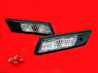 CRYSTAL SIDE INDICATORS REPEATERS BMW E36 3 SERIES SALOON COUPE ESTATE COMPACT O