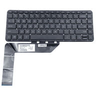 GENUINE HP PAVILION 14-P0 ENGLISH US SILVER LAPTOP KEYBOARD SN6132 SG-62220-XUA