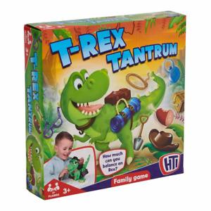 T-Rex Tantrum Children's Balancing Game Dinosaur 2+ Players Similar to Buckaroo