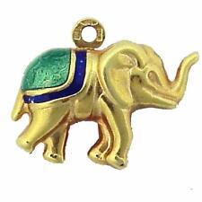 ESTATE 14K GOLD ELEPHANT CHARM