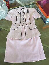 Pilar Rossi suit designer skirt-jacket designer needs a good dry cleaning