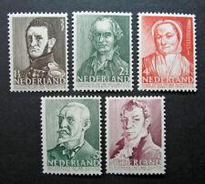 Netherlands 1941 Scott #B134-B138 MH OG - Scott 2010 Catalogue Value $4.00 MNH!