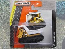 Matchbox 2014 #028/120 TRAIL TIPPER orange and white  MBX Construction Case K