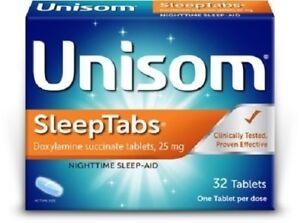Unisom Sleeptabs 32 Tablets Box