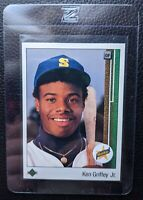 1989 UPPER DECK #1 KEN GRIFFEY JR ROOKIE CARD RC SEATTLE MARINERS HOF