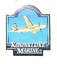 Vintage Royal Netherlands Navy Decal Stickers - Koninklijke Marine