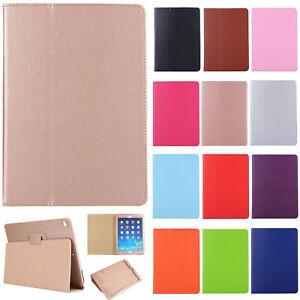 Slim Folio Stand PU Leather Case Cover For New iPad Pro/iPad 10.2/iPad 9.7/mini