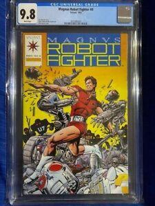 MAGNUS ROBOT FIGHTER #0 CGC 9.8 NM/MT Near Mint 1992 Pre-Unity Valiant KEY!