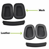 2x Replacement Ear Pad Ear Cushion Earmuff For Logitech G633 G933 Headphones