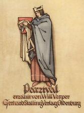 Vesper, Will. Parzival. Ein Abenteuerroman. Erzählt. Stalling EA 1926
