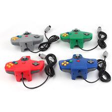 4 Stk. N64 Controller  Gamepad Control Pad Nintendo 64: blau, grün, grau, rot