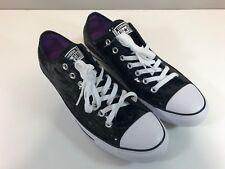 Mens Converse Black Sparkle Sequin Chuck Taylor All Star Prom Sneaker 136079F
