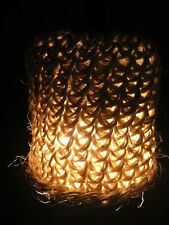lustre /suspension lumineuse sisal