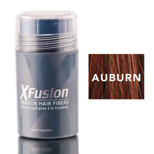 X-Fusion Keratin Hair Fibers Auburn 0.53oz