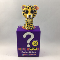 TY Beanie Boos Mini Boo SPECKLES Leopard Series 3 Collectible Handpainted Figure