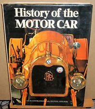 History of the Motor Car by Marco Matteucci (1977 Reprint, Hardcover)