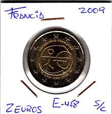 E458 MONEDA 2 EUROS SIN CIRCULAR 2009 FRANCIA EMU
