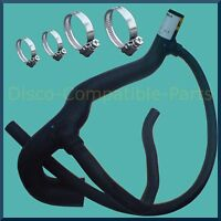 Land Rover Discovery 300 TDi Radiator Bottom Hose + Stainless Steel Hose Clamps