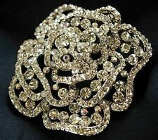 ebfea0471 Vintage style crystal pin brooch wedding accessory gift