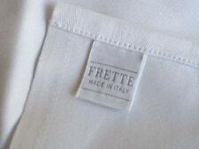 """2 R.C. FRETTE Crisp White Bedside Mats 22"""" X 28"""", ONE TIME SUPER LOW AUCTION!"""